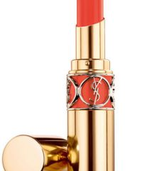 YSL Rouge Volupte Shine 30 Coral Ingenious, $37