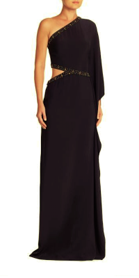 Ralph Lauren Collection Mayra One-Shoulder Gown, $4990